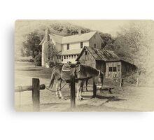 Blue Ridge Country Canvas Print