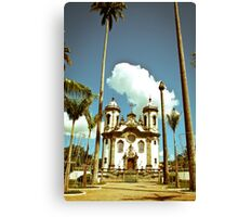 Brazil Church Canvas Print