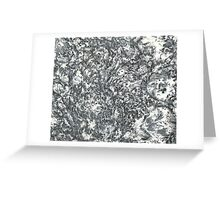 Prediction - Abstract Psychedelic Art Greeting Card