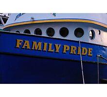 "The ""Family Pride"" Photographic Print"