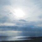 Sky impression on a cloudy day in Utersum, Föhr by aquaarte