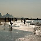 Morning At the Shore - Coney Island by wlotus