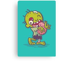 Zombie Hugs Canvas Print