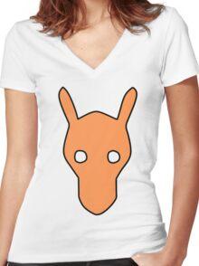 Pokemaniac Tee Women's Fitted V-Neck T-Shirt