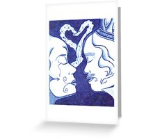 Love of a King and Queen Greeting Card