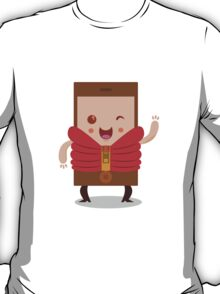 Mobile phone character T-Shirt