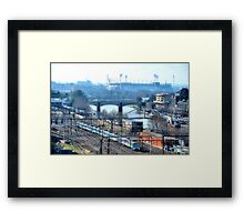 "Getting to the ""G"" Framed Print"