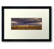 The Plains of San Agustin Framed Print