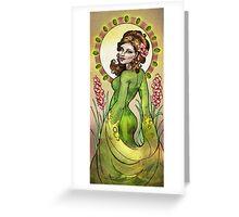 Peridots & Gladiola Greeting Card