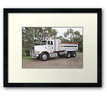 Ford L9000 - Barry Feil - Hobart Tasmania Framed Print