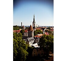 View From Toompea. Photographic Print