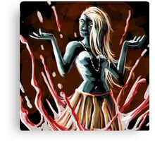 blood magic queen Canvas Print