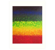 Spectrum - Abstract Psychedelic Art Art Print