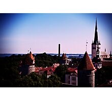 View From Toompea Photographic Print