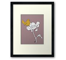 Bird in Bloom Framed Print