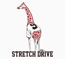 Stretch Drive Belt Giraffe by swiener