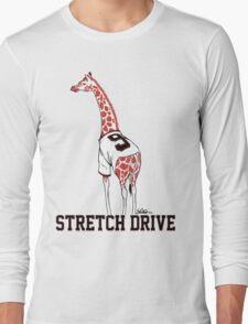 Stretch Drive Belt Giraffe Long Sleeve T-Shirt