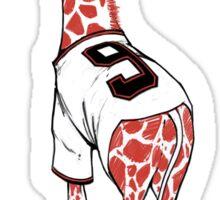 Stretch Drive Belt Giraffe Sticker