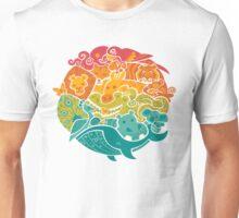 Animal Rainbow Unisex T-Shirt