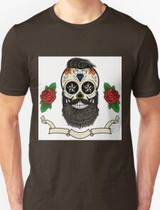 bearded skull Unisex T-Shirt