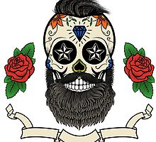 bearded skull by kotliar