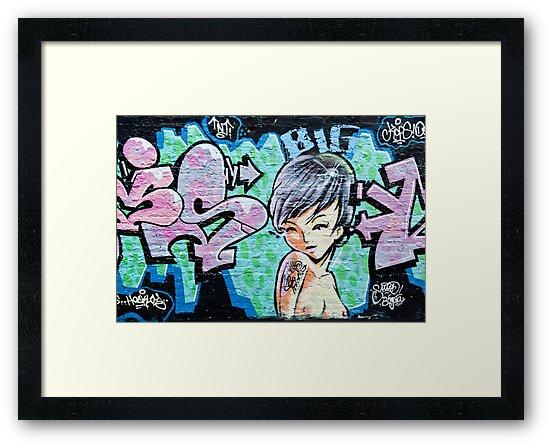 Graffiti Girl by yurix