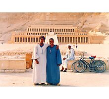 Mohammed and Isaac  Photographic Print