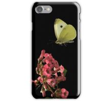 LITTLE WHITE BUTTERFLY iPhone Case/Skin