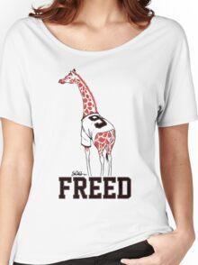 Freed Belt Giraffe Women's Relaxed Fit T-Shirt