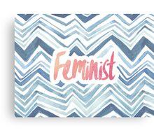 Feminist Typography 2 Canvas Print