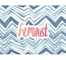 Feminist Typography 2 Photographic Print