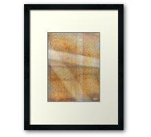 The Softness Of Light Framed Print