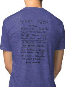 Mad Max: Fury Road - Back TATTOO Tri-blend T-Shirt