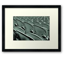 Seating Framed Print