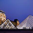 The Louvre by David Preston