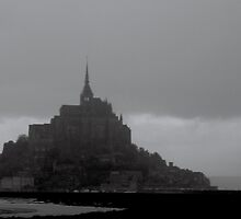 mont st michel by Kent Tisher