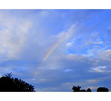 Yes Virginia there really is Rainbows! Photographic Print