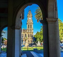 Framing the Old Town Hall - Bendigo, Victoria by sjphotocomau