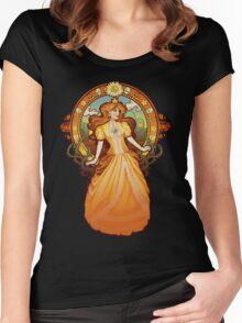Daisy Nouveau Women's Fitted Scoop T-Shirt