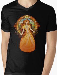 Daisy Nouveau Mens V-Neck T-Shirt