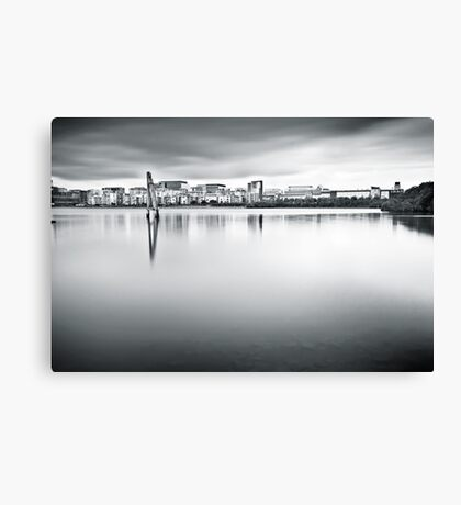 Urban Stillness Canvas Print