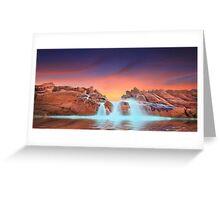 Spa Pool, Wyadup rocks, Yallingup. Western Australia Greeting Card