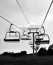 Chairlift in the Summer - Calabogie, Ontario by Debbie Pinard