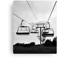 Chairlift in the Summer - Calabogie, Ontario Canvas Print