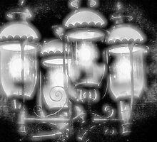 Frosty Streetlamps by Bob Wall