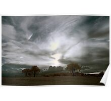 Sunset in Infrared Poster