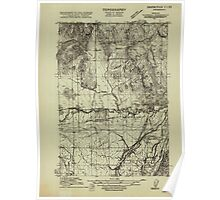 USGS Topo Map Oregon Rickreall 282186 1915 31680 Poster