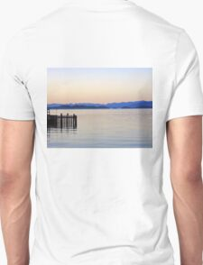 Flathead Lake at Dusk Unisex T-Shirt