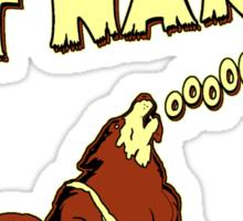 Wolfman's Got Nards Sticker