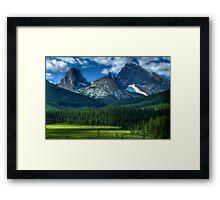 Kananaskis Beauty Framed Print